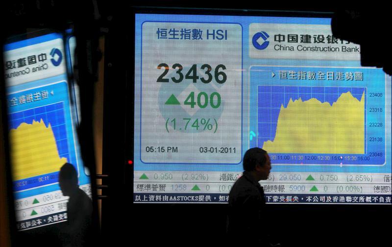 El Hang Seng abre la semana con pérdidas del 1,28 por ciento