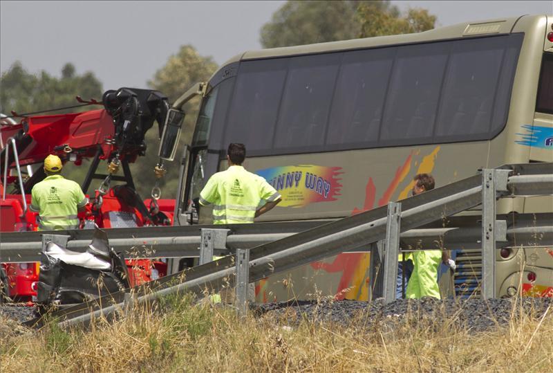 Mueren doce personas en las carreteras durante el fin de semana