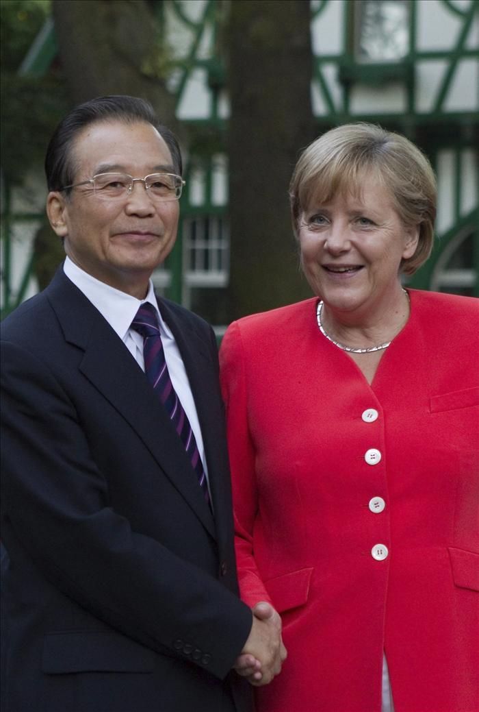 Wen quiere duplicar el intercambio comercial con Alemania en cinco años