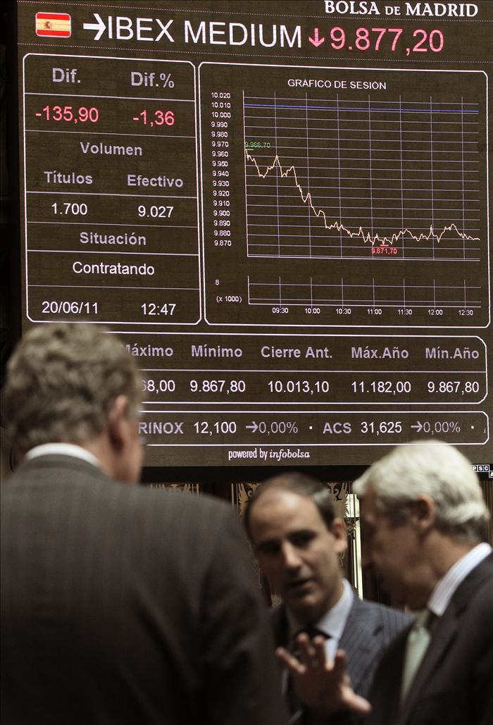 La Bolsa española abre con ganancias y el ÍBEX sube el 0,27 por ciento