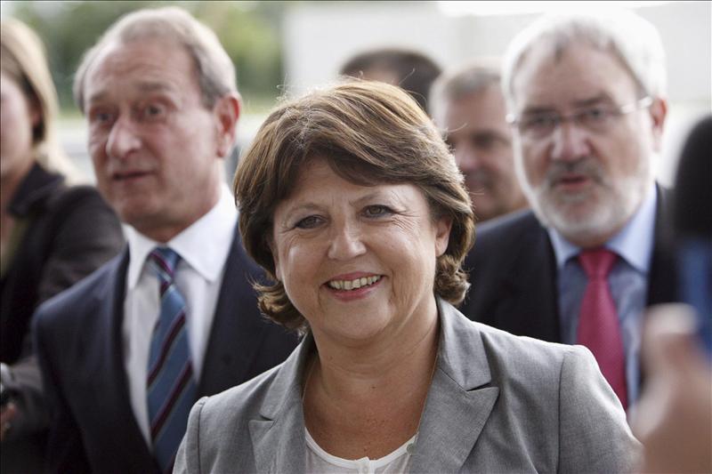 Martine Aubry anuncia su candidatura a las primarias del Partido Socialista