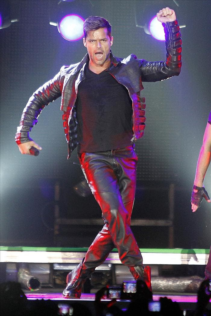 Ricky Martin reivindica en Madrid su orgullo sin ataduras