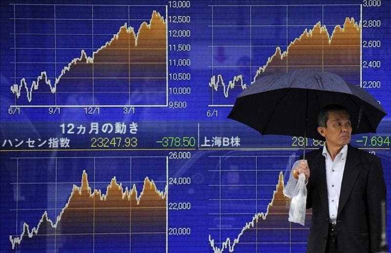El índice Nikkei sube 124,08 puntos, 1,29 por ciento, hasta 9.773,06 puntos