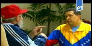 Chávez y Fidel Castro se reunieron hoy, según la TV cubana que ofreció imágenes