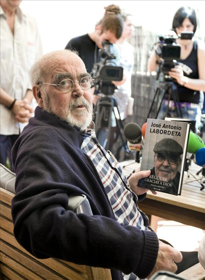 """Labordeta obtendrá hoy el """"VII Premio Aragoneses en Madrid"""""""