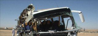 Doce muertos y siete heridos en un accidente de tráfico en el sur de Egipto