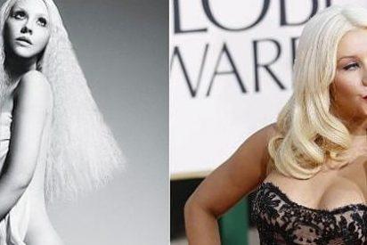 El 'photoshop' de Christina Aguilera