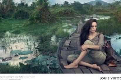 Angelina Jolie protagonista de la campaña de Louis Vuitton