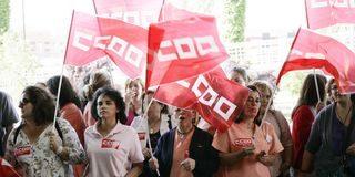 Las limpiadoras del Hospital de Talavera van a la huelga para exigir que Kulh Linaer pague lo que les debe