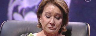"""Mila Ximénez, en su peor momento, se enfrenta a J.J. Vázquez: """"No aguanto que me llames gilipollas. Me pongo a llorar y tú te cagas de la risa"""""""