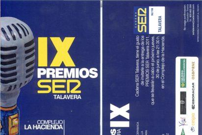 Entrega de los IX Premios SER Talavera 2011