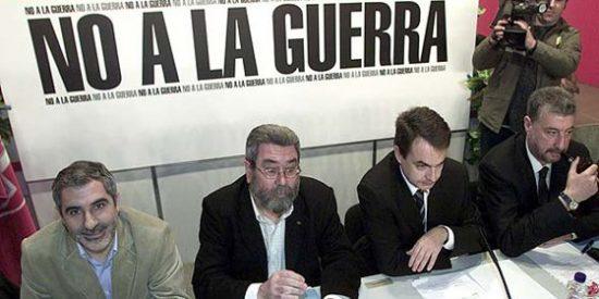 La zurda se rebota ante quienes responsabilizan a Zapatero de los muertos de 'su' guerra