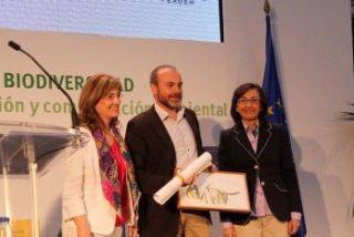 Arturo Menor premiado por la Fundación Biodiversidad