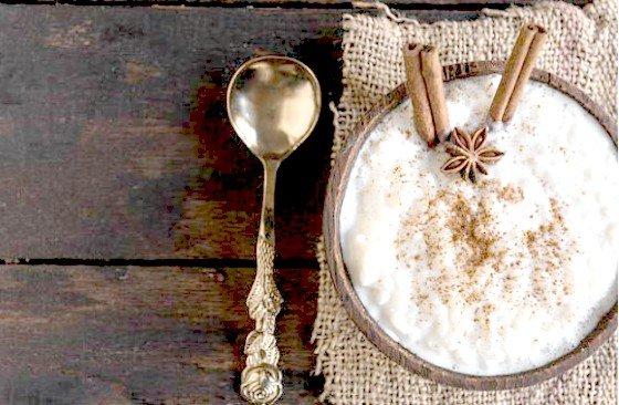 Receta de arroz con leche en el microondas