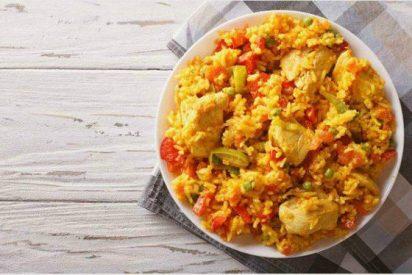 Receta de arroz con pollo casero 👌