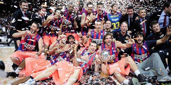 El Regal Barcelona se proclama campeón de la ACB de forma contundente