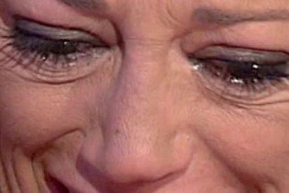 """Belén Esteban rompe a llorar en directo al pedir perdón por insinuar que Ortega Cano """"triplicaba la tasa de alcohol"""" en el momento del accidente"""