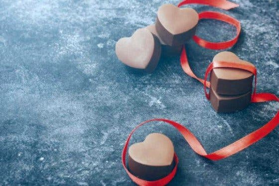bombones de chocolate sin azúcar añadido