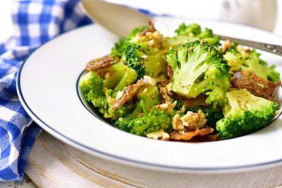 Receta de brócoli salteado