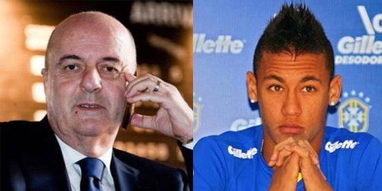 Ernesto Bronzetti (Agente FIFA) la lía con el fichaje de Neymar por el Real Madrid