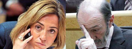 Zapatero y Rubalcaba dejarán a uno de cada cuatro españoles en riesgo de pobreza
