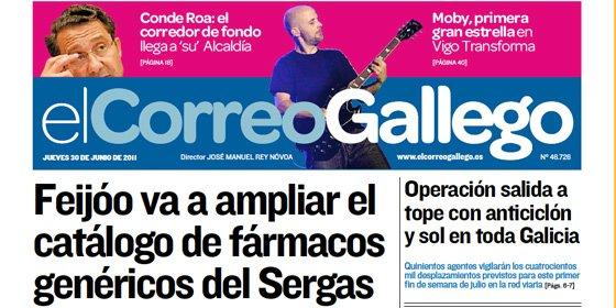 El Correo Gallego está vivo y colea