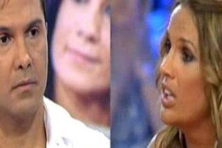 """Brutal bronca entre Marta López ('El Reencuentro') y la mujer de Coyote Dax en directo: """"Eres un bicho, tu marido no te aguanta. ¡Mala!"""""""