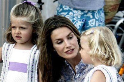 """'Supernanny' le recomienda a la Princesa Letizia que no sea tan """"represiva"""" con sus hijas"""
