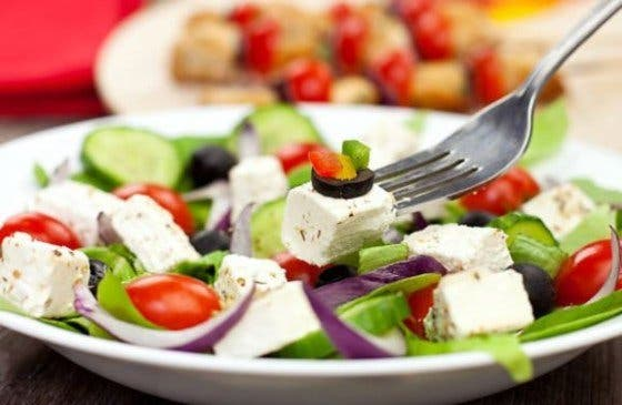 Ensalada griega, receta fácil
