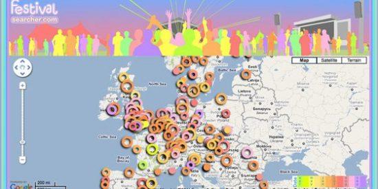 Mapa interactivo 2011: ¿Nos hacemos un Festival de música este verano por Europa? Hay cientos donde escoger