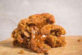 Galletas de caramelo sabor toffee: 2 recetas fáciles 👌