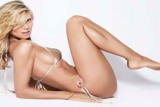 A la maciza Heidi Klum le chifla ir desnuda por su casa