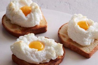 Cómo hacer huevos nube, muy ligeros
