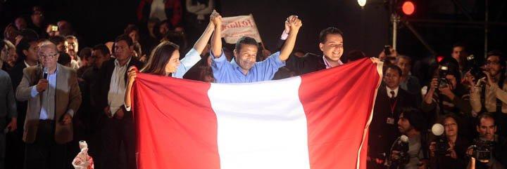 """Humala: """"La gran transformación lega a Palacio de Gobierno"""""""