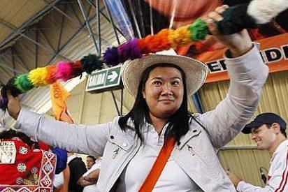 Keiko Fujimori acusa a su rival Humala de ser un narcotráficante