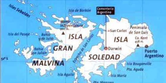 Argentina critica las palabras del ministro de Defensa inglés sobre las Malvinas