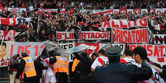 Clausuran 20 partidos El Monumental de River Plate y no jugará en su estadio en la Nacional B