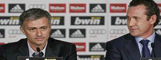 """Mourinho: """"No estoy feliz con la salida de Valdano, estoy feliz con la nueva organización del club"""""""