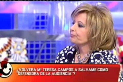 """La Campos se vuelve a enfrentar con los de 'Sálvame': """"No tengo que defenderme pero lo que más me duele es que hicisteis llorar a mi hija"""""""