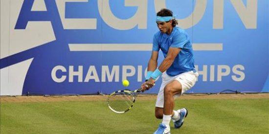 Tsonga aparta a Nadal de las semifinales del torneo de Queens