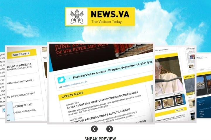 El Papa lanzará personalmente el nuevo portal del Vaticano
