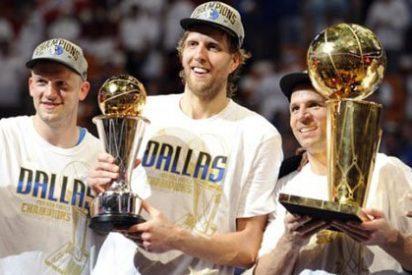 Dallas Mavericks consigue ante Miami Heat su primer anillo de la NBA