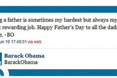 El presidente Barack Obama comienza a enviar sus propios 'tweets'