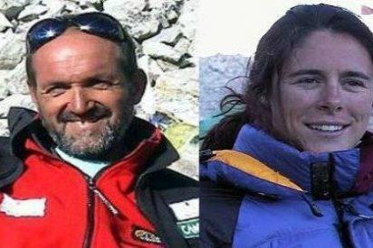 Juanito Oiarzabal y Edurne Pasabán se reconcilian en 'El Larguero'