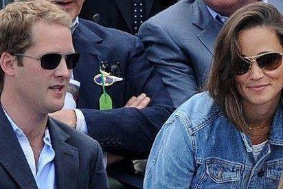 Pippa Middleton manda a su novio a 'hacer gárgaras' y se divierte