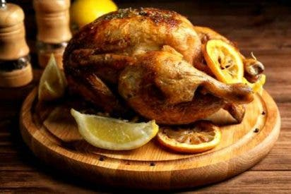 Receta de pollo al horno al limón y orégano