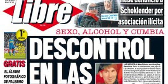 Messi: sexo, alcohol y cumbia antes de la concentración para la Copa América