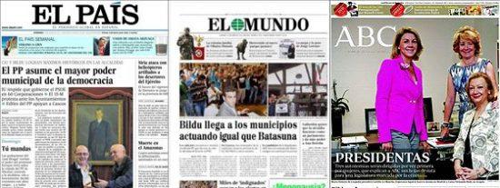 Vuelco histórico en España e indignidad en el País Vasco