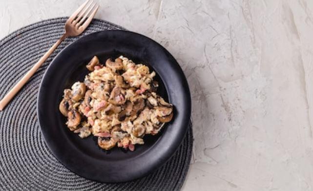 Revuelto de champiñones: 2 recetas fáciles 👈