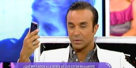 """Linchamiento a Luis Rollán por parte de sus compañeros de 'Sálvame': """"Hacer esto es de malas personas, me siento traicionado"""""""